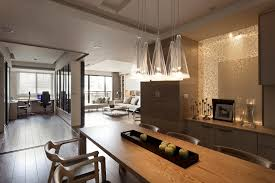 Retractable Kitchen Light Contemporary Apartment With A Retractable Interior Keribrownhomes