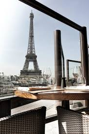 dining with eiffel tower view. dining with eiffel tower view