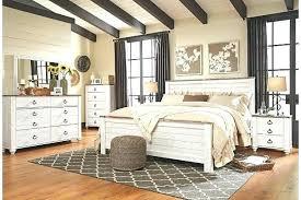 Ashley Furniture King Bed Frame Furniture Bed Frames Two Tone King ...