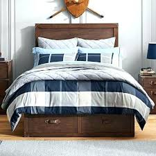 buffalo check duvet covers flannel cover king
