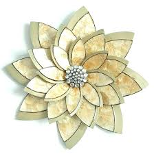 porcelain flower wall decor ceramic wall flowers yellow flower metal wall decor wall art ideas design