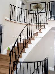 iron railings for indoor stairs | Interior Railings (#502)  Indoor Stair  RailingWrought ...