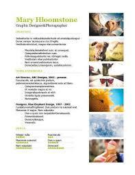 Resume Portfolio 1 Film Strip Resume Template Suiteblounge Com