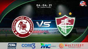 Jacuipense x Fluminense de Feira - YouTube