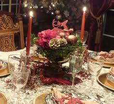 ... Furniture 59 Christmas Center Table Decorations Picture Ideas Beautiful  Christmas Centerpiece With Adorable Red And White ...