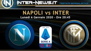 Napoli-Inter: le formazioni ufficiali! Sensi dalla panchina ...