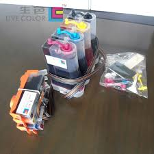 live color kcmy 1 set ciss arc chips for hp685 kcmy for hp deskjet ink advantage 3525 4615 4625 5525 6520 6525 etc