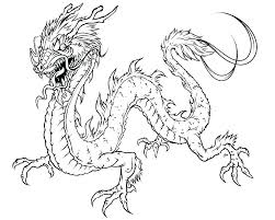 Free Easy Coloring Pages Dragon Colouring Sheet Kids Printable To