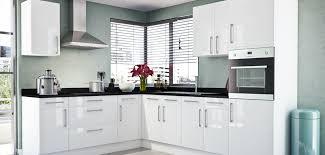 Gloss White Kitchen Cabinet Fair White Gloss Kitchen Cabinets