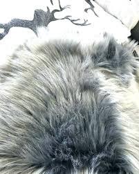 grey fur rug faux fur rug grey fox fur rug grey fur rug luxury dark grey grey fur rug