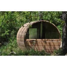 Sauna Rond Chauffage Bois