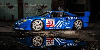 Under the composite body panels, ferrari fitted nothing but the essential bits and pieces to keep the car's overall weight down. This Impossibly Cool Ferrari F40 Lm Is For Sale