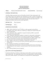 Job Descriptions For Resume It Resumes And Duties Subway Job