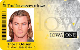 University - Ids Idviking Fake Id Iowa Scannable Of Best Student