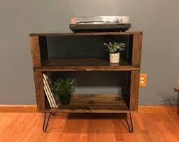 vinyl record furniture. Mid-Century Record Cabinet W/ Vinyl Storage, Hairpin Legs Furniture H