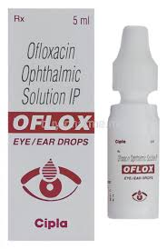 ofloxacin eye drops expired