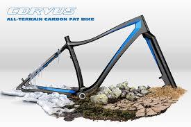 Meet Corvus, Fatback Bikes complete carbon <b>fat</b> tire bike