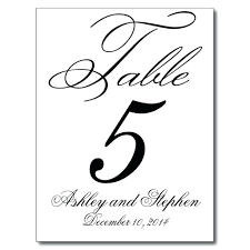 wedding table cards template printable table numbers namiswla com