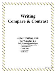 compare and contrast essays teaching resources teachers pay teachers  compare contrast essay writing for grades 2 3