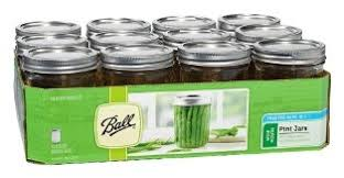 ball 16 oz mason jars. set of 12 wide mouth pint jars ball 16 oz mason i