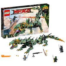LEGO Ninjago Movie Green Ninja Mech Dragon 70612 Ninja Dragon Toy - Walmart.com  - Walmart.com