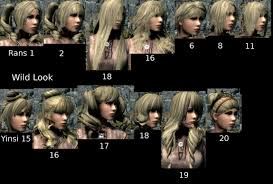 Skyrim Hair Style Mod Mtoh And Yinsiyue Hairstyles Retexture At Skyrim Nexus Mods And 2942 by wearticles.com