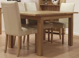 dining sets cream leather chairs. homestyle gb opus oak dining set - extending with 4 marianna cream leather chairs sets p