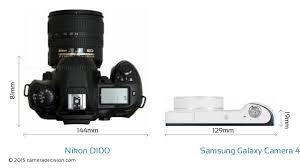 Nikon D100 vs Samsung Galaxy Camera 4G ...