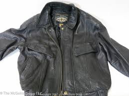 the mcguire group llc auction living estate auction on line item colebrook leather jacket