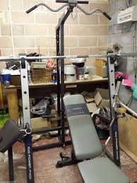 Smith Machine With Bench Package  Home Gym Exercises  FSMC From Marcy Platinum Bench
