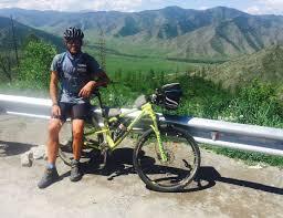 Interview: Ivan Zimmermann riding the Silk Route