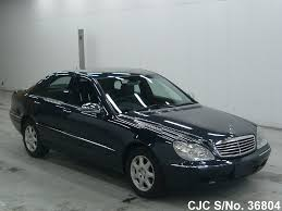 We analyze millions of used cars daily. 2000 Mercedes Benz S Class Black For Sale Stock No 36804 Japanese Used Cars Exporter
