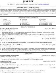 Merchandising Resume Customer Service Merchandising Resume Template Premium Resume