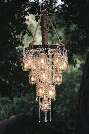 rare outdoor candle chandelier non electric unique mason jar chandeliers for gazebos