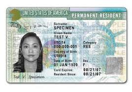 Our Law - Her Received Despite Entry Fraudulent A Group Reeves Client Green Immigration Card