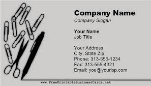 business card office office supplies business card