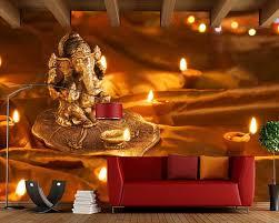Hindu Wall LamAnd Candle 3D Wallpaper ...
