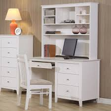 white desk with hutch. Brilliant White Serena Kids Computer Desk And Hutch In White With Pull Out Keyboard Tray For I