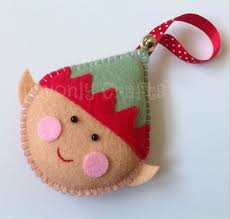 Christmas Crafts  Felt Crafts At WomansDaycomChristmas Felt Crafts