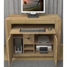 hidden home office. Atlas Chunky Oak Hidden Home Office Desk Working Chairs