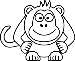 Small Picture Monkey coloring pages hanging by tail ColoringStar