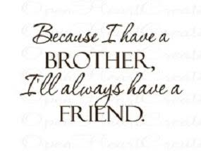 status about brothers