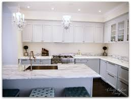 Kitchen In Progress Update   Grey Cabinets   Glass Doors On Upper Cabinets    Minimalist
