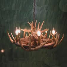 whitetail deer antler antler chandelier