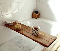 wooden bath caddy wooden bath portrayal tray bathroom decor shelf with wood bath decorating wood bath