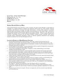 CLASS TITLE: Senior Asset Manager POSITION STATUS: FULL TIME FLSA STATUS:  EXEMPT EFFECTIVE ...