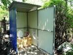 Дачный туалет профлист