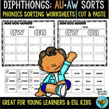 Here, you will find free phonics worksheets to assist in learning phonics rules for reading. Aw And Au Worksheets Teachers Pay Teachers