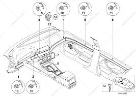 Interior moldings high polished for bmw 5' e39 m5 sedan ece bmw bmw parts e39 parts diagram