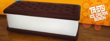 ice cream sandwich furniture. The Ice-Cream Sandwich Bench Ice Cream Furniture